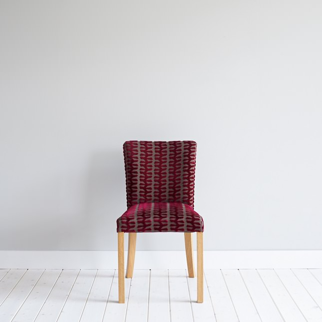 Front view of Oak Rathmell Dining Chair