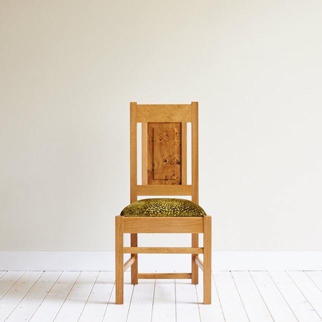 Low Backed Oak Smithy Dining Chair