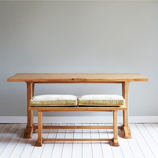 Curved Refectory Table