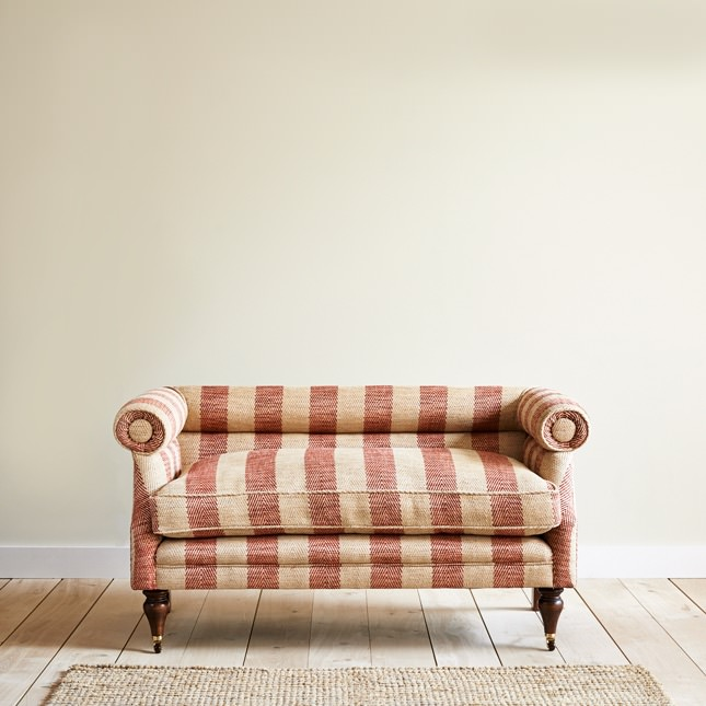 Solid Beech Haberside sofa with sprung seat