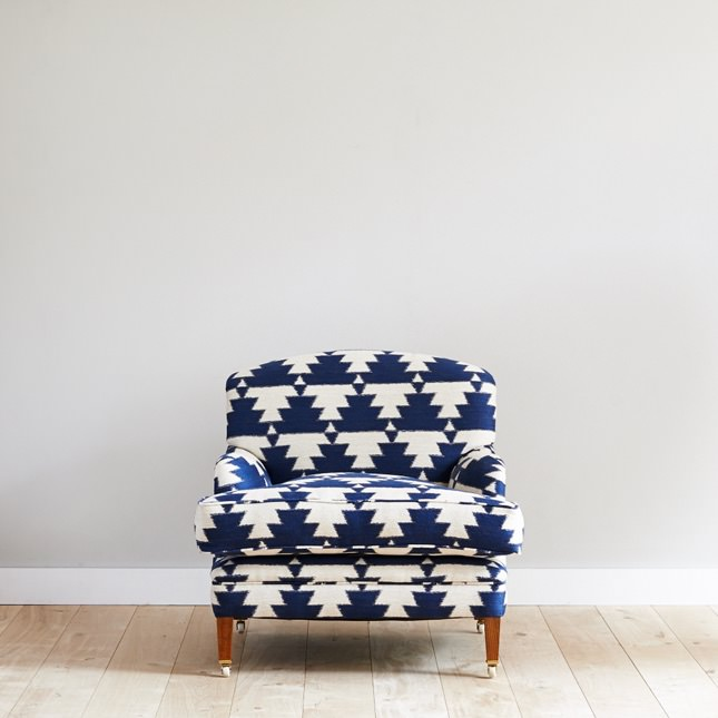 Low, laid back Kalkaber Armchair