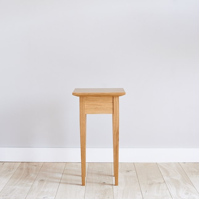 Dalesbred hand made oak Side Table