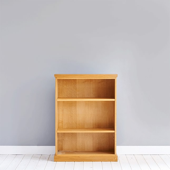 Solid oak smithy bookcase